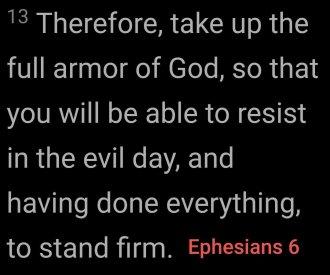 EPHESIANS 6 13